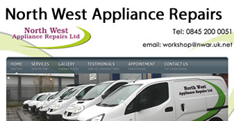 North West Appliance Repair Website